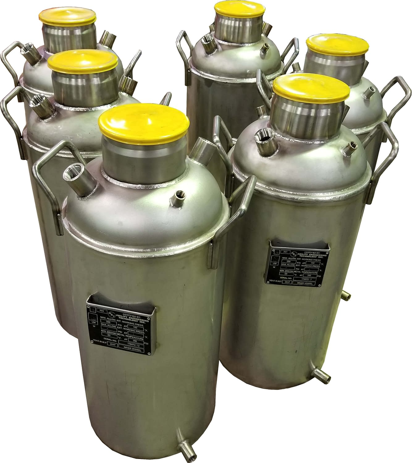 Solvent Vessels